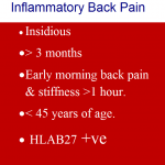 inflammatory back pain