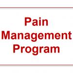 What Is Pain Management Program?