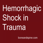 hemorrhagic shock trauma