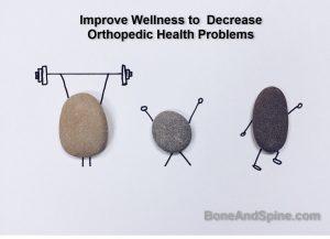 Improve wellness to reduce orthopedic ailments